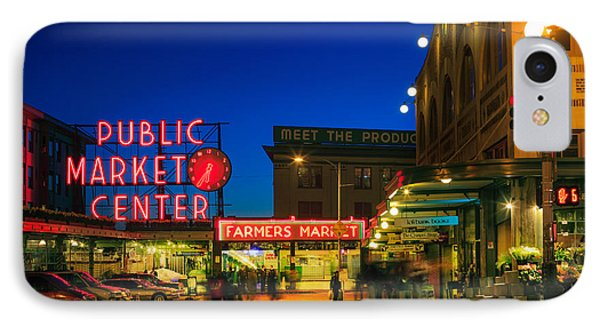 Pike Place Market Phone Case by Inge Johnsson