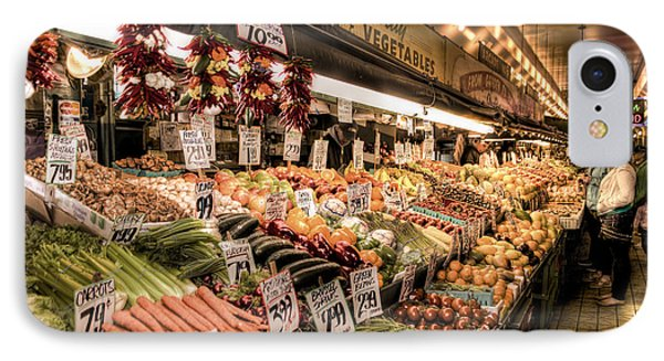 Pike Place Veggies Phone Case by Spencer McDonald