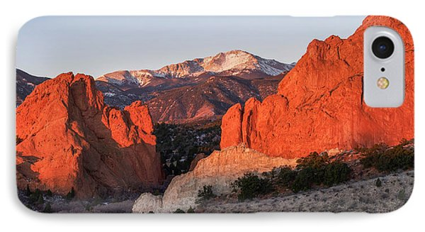 Pikes Peak 2 IPhone Case