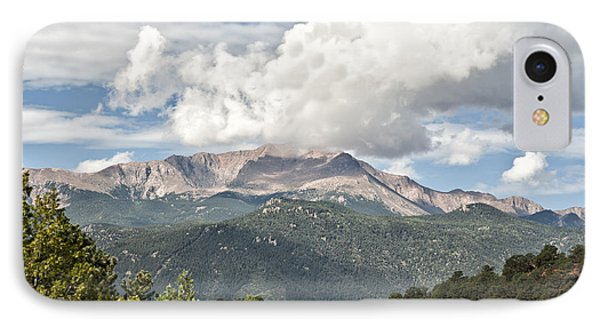 IPhone Case featuring the photograph Pikes Peak by Cheryl Davis