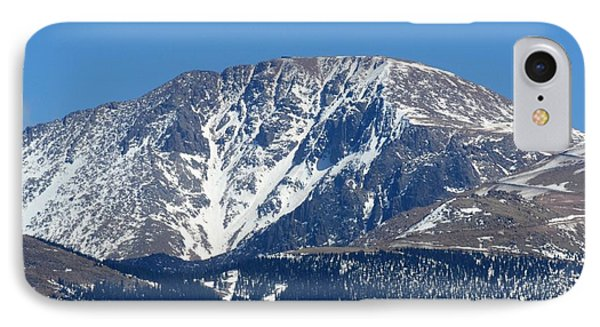 Pikes Peak Close-up IPhone Case