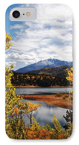 Pikes Peak In Autumn IPhone Case