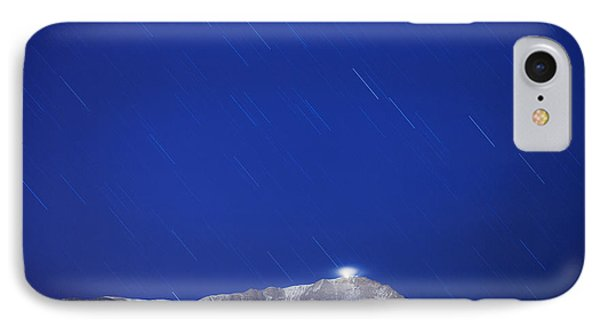 Pikes Peak Under The Stars Phone Case by Darren  White