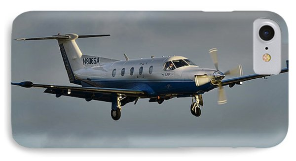 Pilatus  Pc-12-45 IPhone Case by James David Phenicie