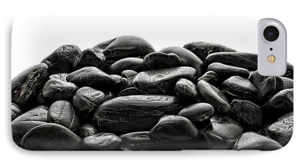 Pile Of Stones Phone Case by Olivier Le Queinec