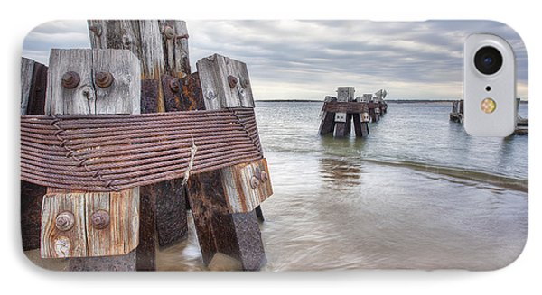 Pilings Phone Case by Eric Gendron