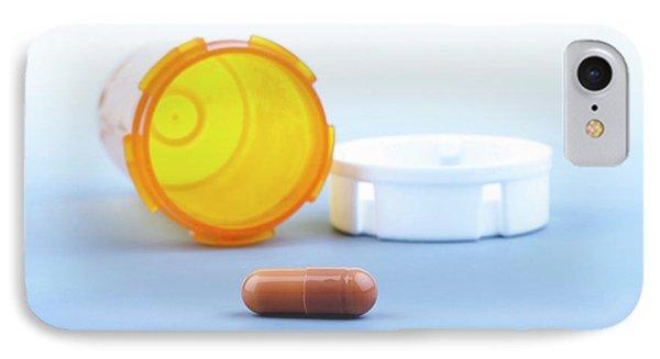 Pill And Bottle IPhone Case by Wladimir Bulgar