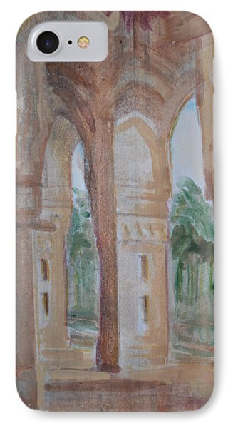 Pillar Of Faith IPhone Case by Vikram Singh