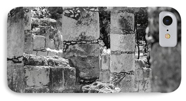 IPhone Case featuring the photograph Pillars In Disarray by Kirt Tisdale