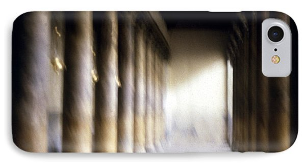 Pillars In Israel Phone Case by Scott Shaw