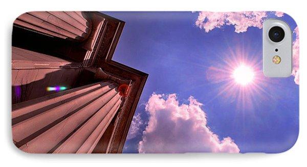 IPhone Case featuring the photograph Pillars In The Sun by Matt Harang