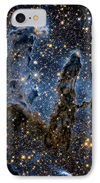 Pillars Of Creation High Definition 1 IPhone Case by Jennifer Rondinelli Reilly - Fine Art Photography