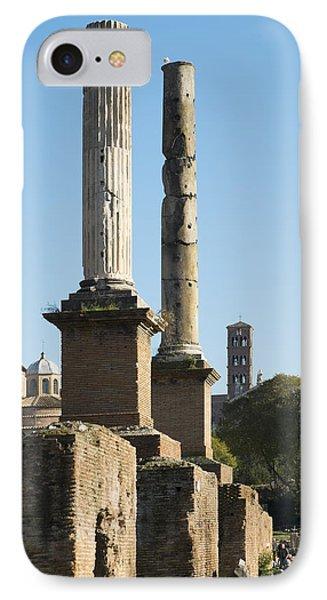 Pillars Of Rome IPhone Case