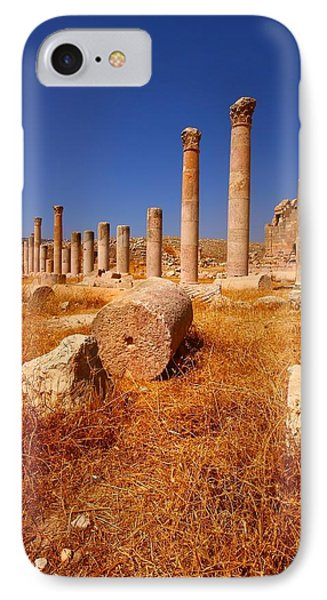 Pillars Of Ruin IPhone Case by FireFlux Studios