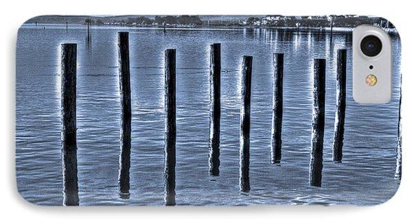 pillars on the Bay IPhone Case
