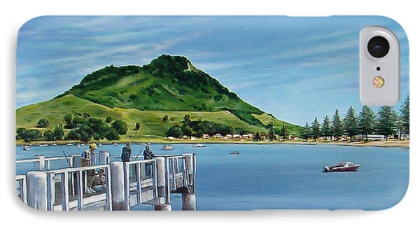 IPhone Case featuring the painting Pilot Bay 280307 by Sylvia Kula