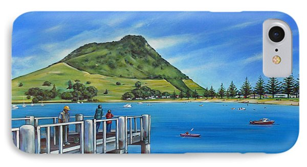 Pilot Bay Mt Maunganui 201214 IPhone Case by Selena Boron
