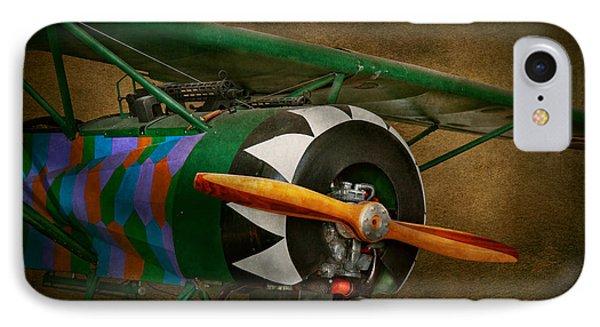 Pilot - Plane - German Ww1 Fighter - Fokker D Viii Phone Case by Mike Savad