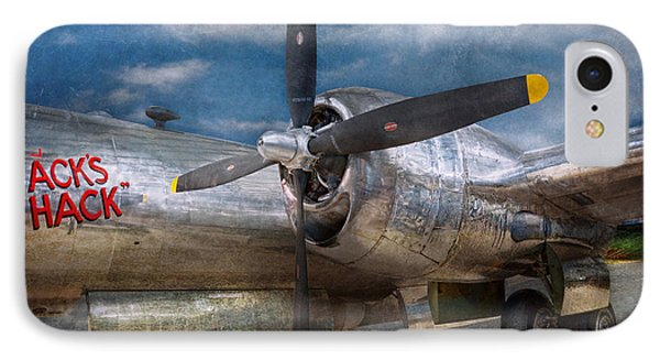 Pilot - Plane - The B-29 Superfortress Phone Case by Mike Savad