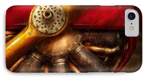 Pilot - Prop - The Barnstormer Phone Case by Mike Savad
