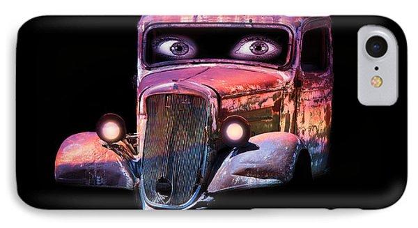 Pin Up Cars - #3 IPhone Case by Gunter Nezhoda