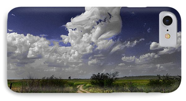 IPhone Case featuring the photograph Pin-up Sky by Brian Duram