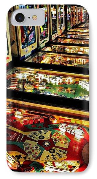 Pinball Arcade Phone Case by Benjamin Yeager