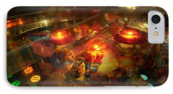 Pinball IIi IPhone Case by Lanita Williams