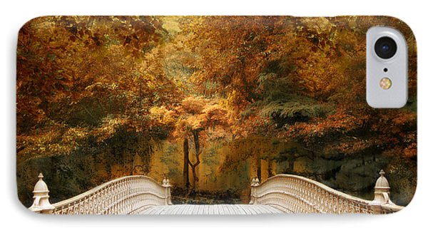 IPhone Case featuring the photograph Pine Bank Autumn by Jessica Jenney