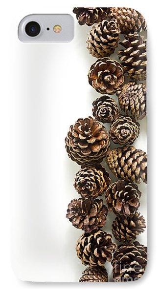 Pine Cones Phone Case by Edward Fielding