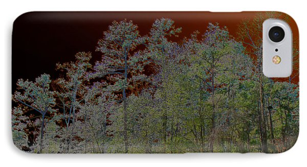 Pine Forest IPhone Case by Connie Fox