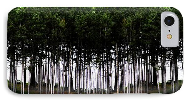 Pine Forest IPhone Case by Marcia Lee Jones