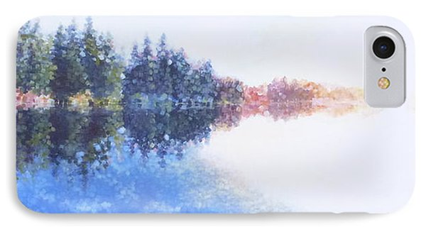 Pine Lake Reflection Phone Case by Charles Smith