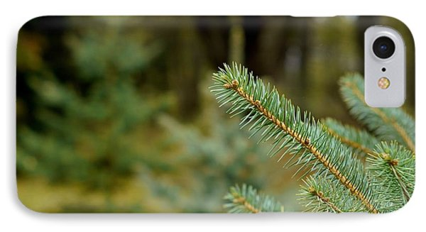 Pine Tree IPhone Case by Alex King
