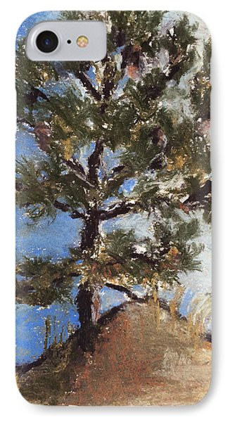 Pine Tree Phone Case by Cristel Mol-Dellepoort