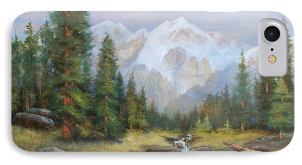 Pine Valley IPhone Case by Richard Hinger