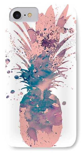 Pineapple 3 IPhone 7 Case by Luke and Slavi