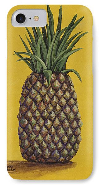 IPhone Case featuring the painting Pineapple 4 by Darice Machel McGuire