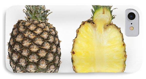 Pineapple Ananas Comosus Phone Case by Matthias Hauser