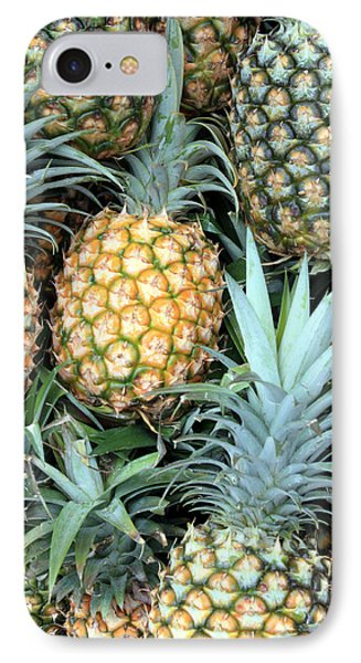 Pineapple Paradise IPhone Case by Karen Nicholson