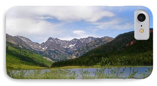 Piney Lake In Upper Vail IPhone Case