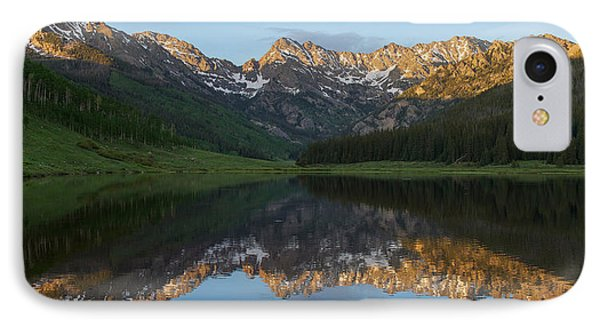 IPhone Case featuring the photograph Piney Lake Sunset Panorama by Aaron Spong