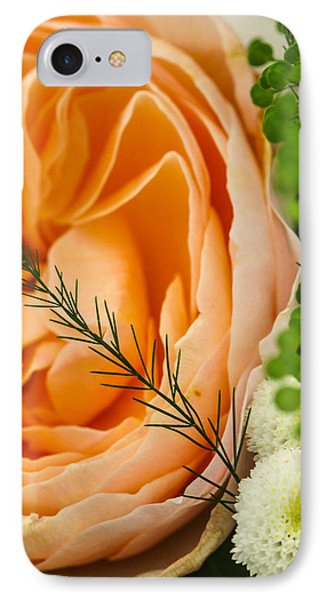 IPhone Case featuring the photograph Pink And Green by Ross Henton