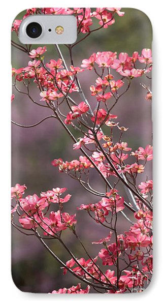 Pink And Purple Spring Trees Phone Case by Carol Groenen