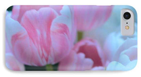 Pink And White Tulips Phone Case by Kathleen Struckle