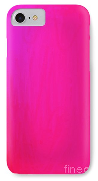 Pink IPhone Case by Anita Lewis