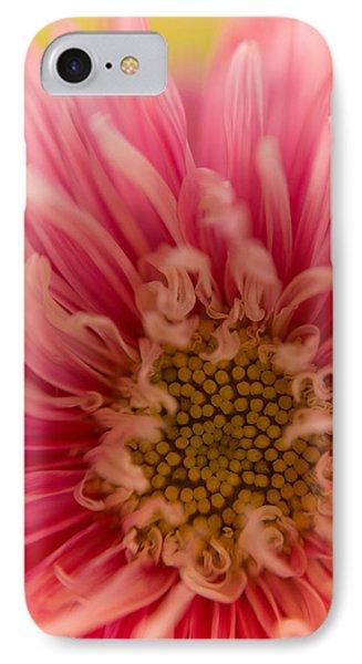 Pink Aster IPhone Case by Benita Walker