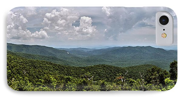 IPhone Case featuring the photograph Pink Bed On Blue Ridge Parkway by Allen Carroll