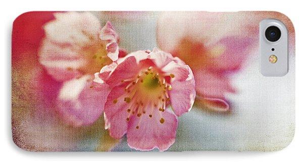 Pink Blossom Phone Case by Scott Pellegrin