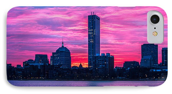 Pink Boston IPhone Case